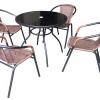 Maxsonic Bistro patio set 5pcs