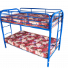 CAPILS TWIN TWIN METAL BUNK BED (4501) (SMALL FILE SIZE)