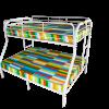 CAPILS TWIN FULL METAL BUNK BED (4502)
